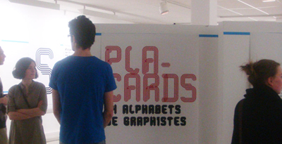 Placards, 14 alphabets de graphistes